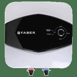 Faber 10 Litres 5 Star Storage Water Geyser (2000 Watts, FWG Glitz, White/Black)_1