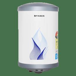 Faber 15 Litres 5 Star Storage Water Geyser (2000 Watts, FWG Vulcan 15V, White)_1