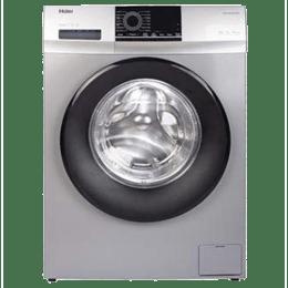 Haier 6.5 kg Fully Automatic Front Loading Washing Machine (HW65-10829TNZP, Titanium Grey)_1