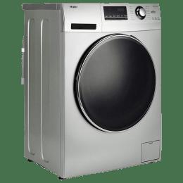 Haier 8 kg Fully Automatic Front Loading Washing Machine (HW80-IM12826TNZP, Titanium Grey)_1