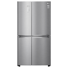 LG 874 Litres Frost Free Inverter Side-by-Side Door Refrigerator (LG ThinQ, GC-F297CLAL.APZQEBN, Shiny Steel)_1