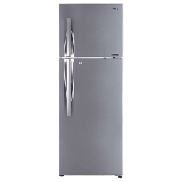 LG 335 Litres 3 Star Frost Free Inverter Double Door Refrigerator (Convertible Plus, GL-T372JPZN.EPZZEBN, Shiny Steel)_1