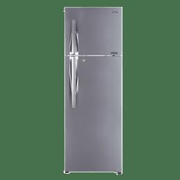 LG 335 L 2 Star Frost Free Double Door Inverter Refrigerator (GL-T372LPZU.EPZZEB, Shiny Steel)_1