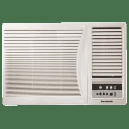 Panasonic 1 Ton 3 Star Window AC (Copper Condenser, CW-LN121AM, White)_1