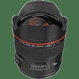 Canon Ultra-Wide Angle Lens with Lens Case (EF 14 mm f/2.8L II USM, Black)_1