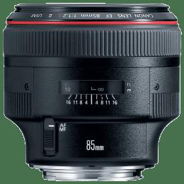 Canon Lens (EF 85 mm f/1.2L II USM, Black)_1