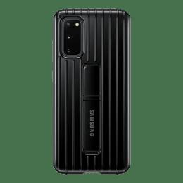 Samsung Galaxy S20 Polycarbonate Protective Standing Back Case Cover (EF-RG980CBEGIN, Black)_1