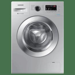 Samsung 6 Kg 5 Star Fully Automatic Front Loading Washing Machine (WW61R20EK0S/TL, Silver)_1