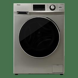Haier 6.5 Kg Automatic Front Loading Washing Machine (HW65-IM10636TNZP, Titanium Grey)_1