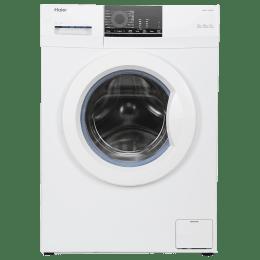 Haier 6 Kg Automatic Front Loading Washing Machine (HW60-10829NZP, White)_1