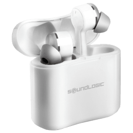 SoundLogic True Beats Wireless Earbuds (TWE003, White)_1