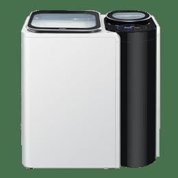 Haier 9.5 Kg Automatic Top Loading Washing Machine (HWM95-261NZP, White)_1