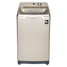 Haier 8.5 Kg Automatic Top Loading Washing Machine (HWM85-678GNZP, Champaign Gold)_1