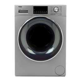 Haier 10 Kg Automatic Front Loading Washing Machine (HW100-DM14876TNZP, Titanium Grey)_1