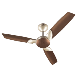 Bajaj Harrier Anti-Germ Bye-Bye Dust 120cm Sweep 3 Blade Ceiling Fan (Aerodynamic Design, 251003, Honey Brown)_1