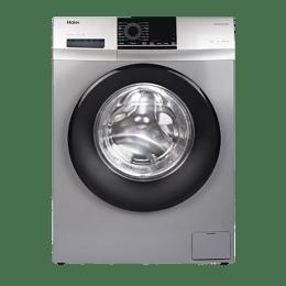 Haier 7 Kg Automatic Front Loading Washing Machine (HW70-IM10829TNZP, Titanium Grey)_1