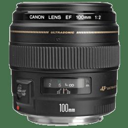 Canon Telephoto Lens (EF 100 mm f/2 USM, Black)_1