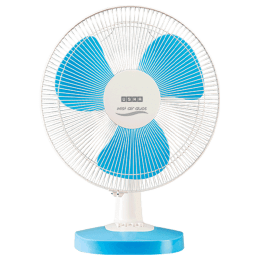 Usha Table Fan (Mist Air Duos, Blue)_1