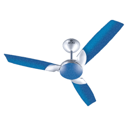 Bajaj Harrier Anti-Germ Bye-Bye Dust 120cm Sweep 3 Blade Ceiling Fan (Aerodynamic Design, 251001, Electric Blue)_1