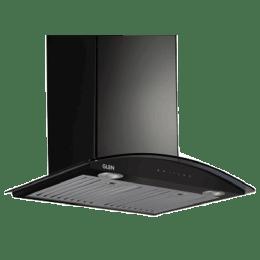Glen 1200 m3/hr 60cm Baffle Filter Wall Mount Chimney (Touch Control with Motion Sensor, CH6066ACBL60, Black)_1