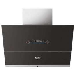 Glen 1400 m3/hr 75cm Filterless Chimney (Auto Clean, CH-6074AC75, Black)_1
