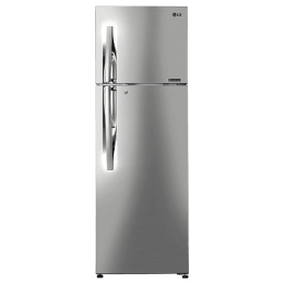 LG 308 Litres 3 Star Frost Free Inverter Double Door Refrigerator (Convertible Plus, GL-T322RPZ3.APZZEBN, Shiny Steel)_1