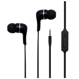 Toshiba In-Ear Wired Earphones with Mic (RZE-D32E, Black)_1