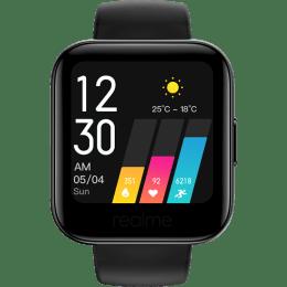 Realme Smartwatch (35mm) (Heart Rate Sensor, RMA161, Black, TPU Band)_1