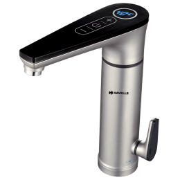 Havells Linea 4 Litres Instant Hot Water Tap (3300 Watts, GHWELOTWS003, Silver)_1