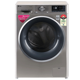 LG 8 Kg 5 Star Fully Automatic Front Loading Washing Machine (FHT1408ZWS.ASSQEIL, VCM + Chrome)_1