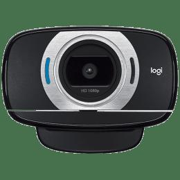 Logitech HD Portable Webcam (Video Calling with Autofocus, C615, Black)_1