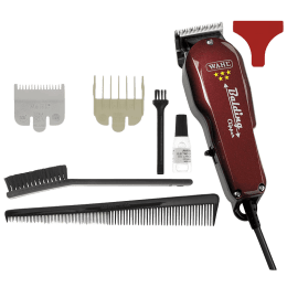 Wahl Balding Stainless Steel Blades Corded Clipper (2 Length Settings, 08110-624, Burgundy)_1