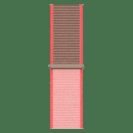Apple Watch 44mm Sport Loop Strap (MXMU2ZM/A, Neon Pink)_1