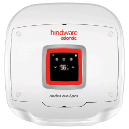 Hindware Atlantic Ondeo Evo I-Pro 15 Litres 5 Star Storage Water Geyser (2500 Watts, SWH 15A-2D-I, White)_1