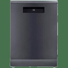 Voltas Beko 15 Place Setting Full Size Dishwasher (AquaFlex, DF15A, Anthracite)_1