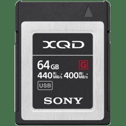Sony 64 GB Memory Card (QD-G64F, Black)_1