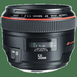 Canon Prime Lens (EF 50 mm f/1.2L USM, Black)_1
