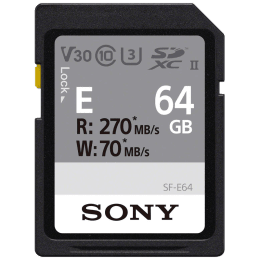 Sony 64 GB Memory Card (SF-E64, Black)_1