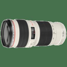 Canon Telephoto Zoom Lens (EF 70-200 mm f/4L USM, White)_1