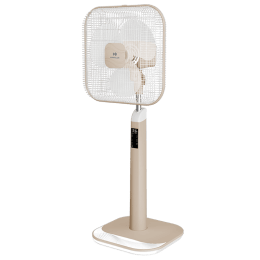Havells Aindrila Premium 40 cm 3 Blade Pedestal Fan (Dusty Rose White)_1