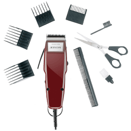 Wahl Moser 1400 Germany Stainless Steel Blades Corded Trimmer (Detachable Head, 01400-0016, Maroon)_1