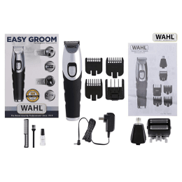 Wahl Easy Groom Rechargeable Trimmer (09893-024, Silver)_1
