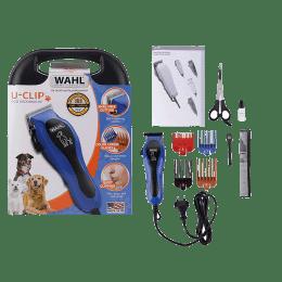 Wahl U-Clip Dog Clipper Kit (09281-2024, Black/Blue)_1