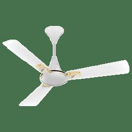 Crompton 120 cm 3 Blades Ceiling Fan (Aura2 / Lotus Pearl White Gold)_1