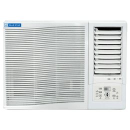 Blue Star YD Series 0.75 Ton 3 Star Window AC (Air Purification Function with PM 2.5 Filter, Copper Condenser, 3WAE081YDF, White)_1