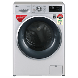 LG 7 Kg 5 Star Fully Automatic Front Loading Washing Machine (FHT1207ZWL.ALSQEIL, Silver)_1