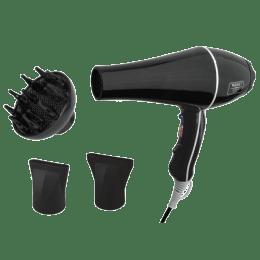 Wahl Super Dry 2 Setting Hair Dryer (Ergonomic Design, 05439-024, Black)_1
