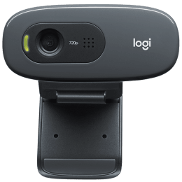 Logitech HD Webcam (Plug and Play Video Calling, C270, Black)_1