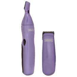 Wahl Head to Toe Confidence Rinseable Rust-Resistant Blades Women's Trimmer (09952-524, Blue)_1