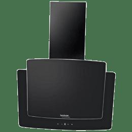 Hindware 1000 m³/hr 60cm Wall Mount Chimney (Digital Display, Melisa 60, Black)_1
